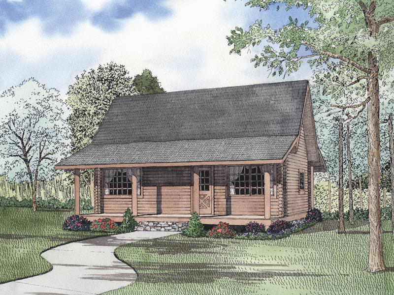 Alyssandra country log home plan 073d 0047 house plans for Country log home plans