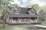 Traditional Log Home Design