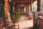 Rustic Home Plan Deck Photo 01 - 073D-0055 | House Plans and More