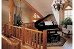 Log Cabin Plan Music Room Photo 01 - 073D-0055 | House Plans and More