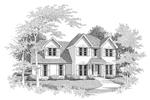 Southern Two-Story Stucco Home Radiates Charm