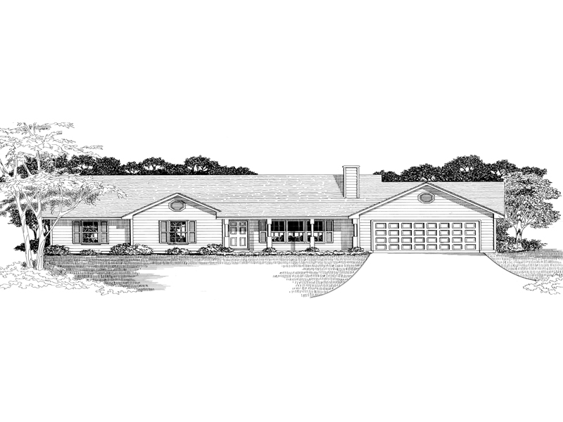 Drayce Ranch Home Plan 076d 0030 House Plans And More