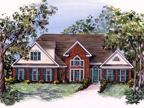 Roxanna southern ranch home plan 076d 0054 house plans for Southern home and ranch