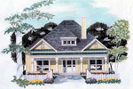 Wide Porch And Shingle Siding Promotes Country Charm