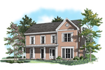 Country House Plan Front of Home - 076D-0114 | House Plans and More