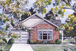 Charming Narrow Lot Home
