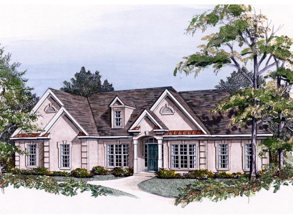 Rolla place sunbelt ranch home plan 076d 0142 house for Sunbelt homes