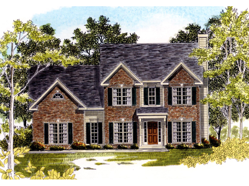 Lovely Two-Story Brick Home