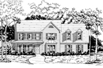 Lovely Two-Story Designed For Country Living