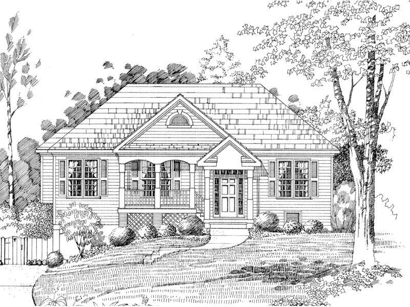 Charming Split-Level Perfect For Country Environment