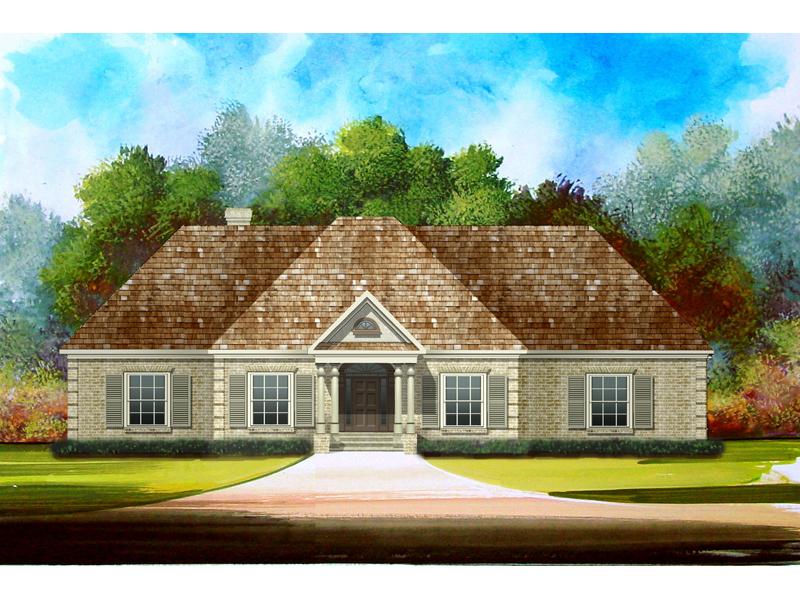 Symmetrically Pleasing Ranch Design