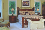 Luxury House Plan Bedroom Photo 01 - 076D-0204 | House Plans and More