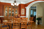 Arts and Crafts House Plan Dining Room Photo 01 - 076D-0204 | House Plans and More