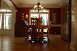Arts and Crafts House Plan Dining Room Photo 02 - 076D-0204 | House Plans and More