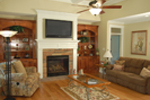 Arts and Crafts House Plan Family Room Photo 02 - 076D-0204 | House Plans and More
