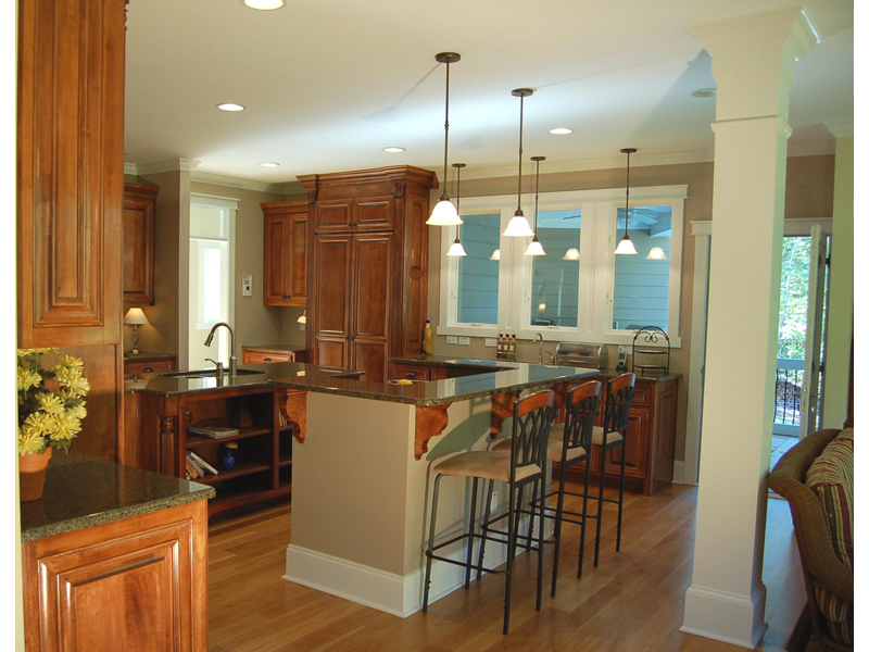 Luxury House Plan Kitchen Photo 02 076D-0204