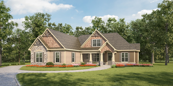 Rear entry garage home floor plans for House plans with rear side entry garage