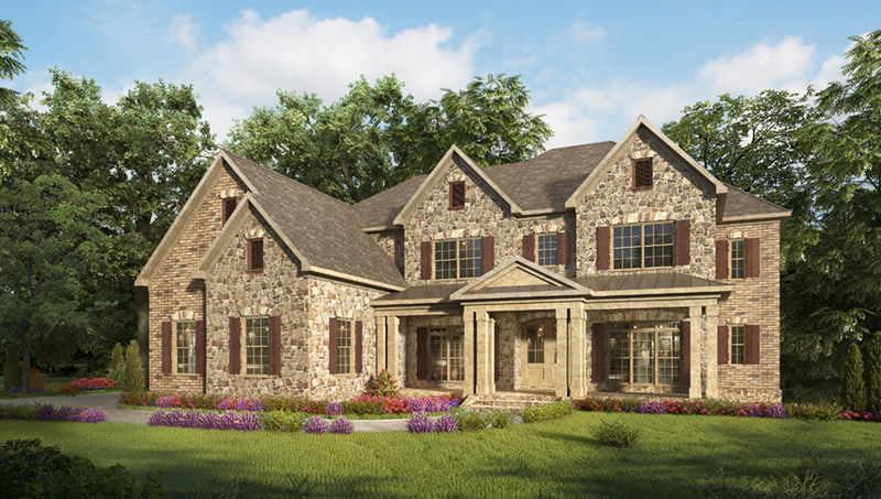 Craftsman House Plan Front of Home - 076D-0242 | House Plans and More