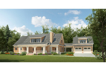 Traditional House Plan Front of Home - 076D-0244 | House Plans and More