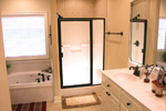 Ranch House Plan Master Bathroom Photo 01 - 077D-0002 | House Plans and More