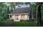 Classic Country Home With Deep Covered Front Porch