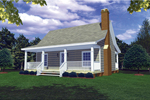 Timeless Country Ranch Has Relaxing Covered Front Porch