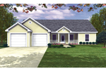 Simple Yet Stylish Ranch With Siding And Covered Porch