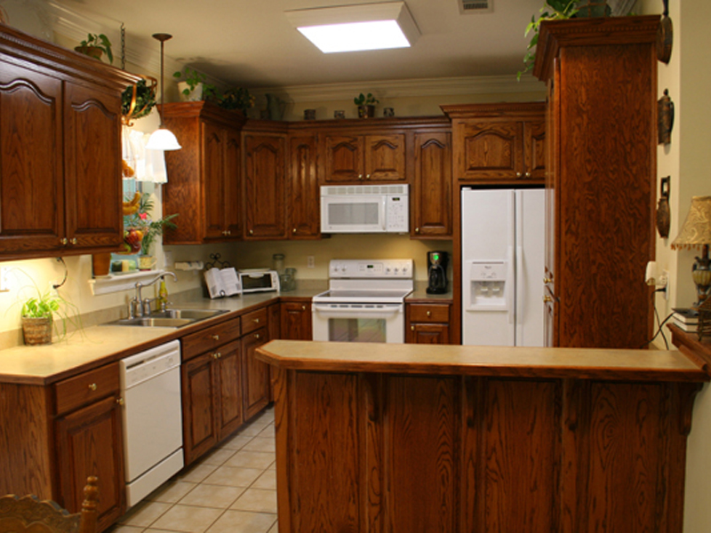 Ranch House Plan Kitchen Photo 01 077D-0037