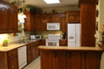 Ranch House Plan Kitchen Photo 01 - 077D-0037 | House Plans and More