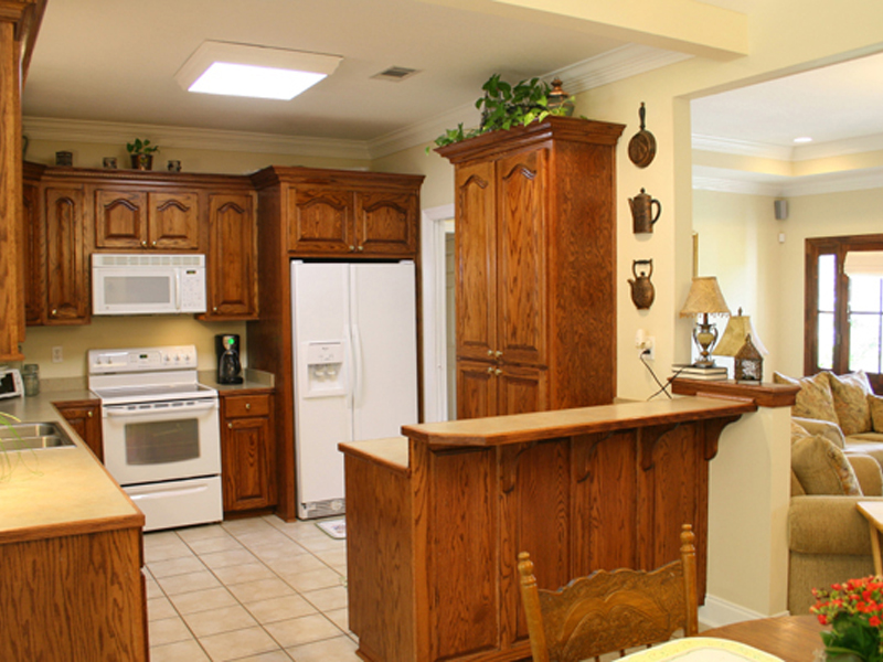 Traditional House Plan Kitchen Photo 02 077D-0037