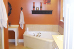 Ranch House Plan Master Bathroom Photo 01 - 077D-0037 | House Plans and More