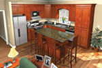 Ranch House Plan Kitchen Photo 01 - 077D-0043 | House Plans and More