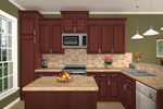 Ranch House Plan Kitchen Photo 01 - 077D-0044 | House Plans and More