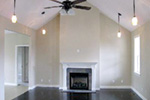 Ranch House Plan Great Room Photo 01 - 077D-0057 | House Plans and More