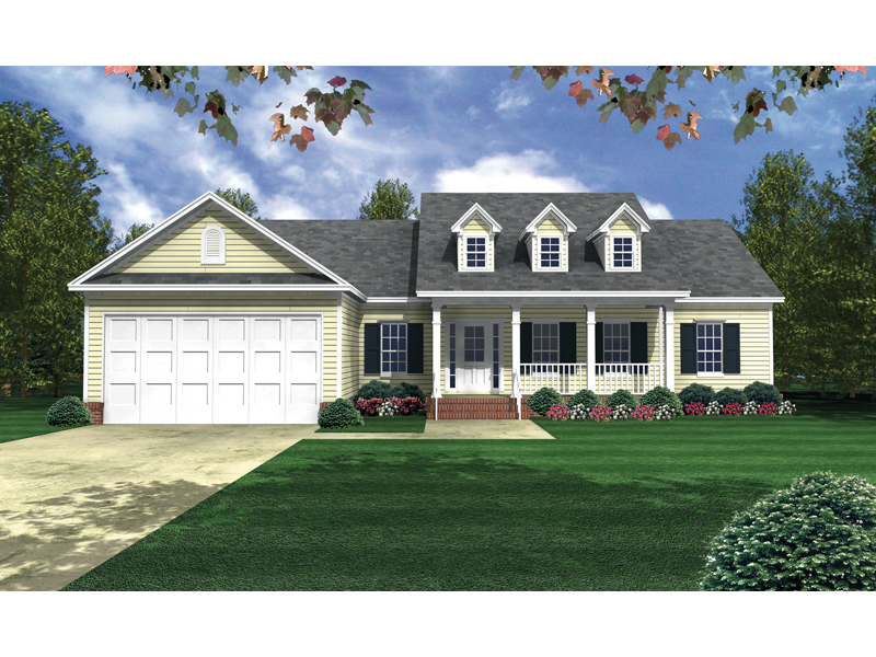 Inviting Country Home Plan