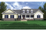 Country Style House Has Eye-Catching Dormers