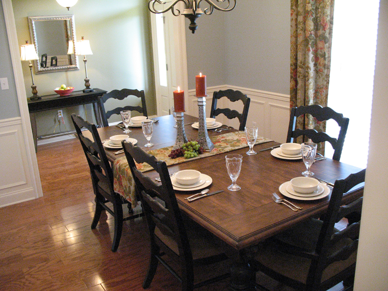 Traditional House Plan Dining Room Photo 01 077D-0097