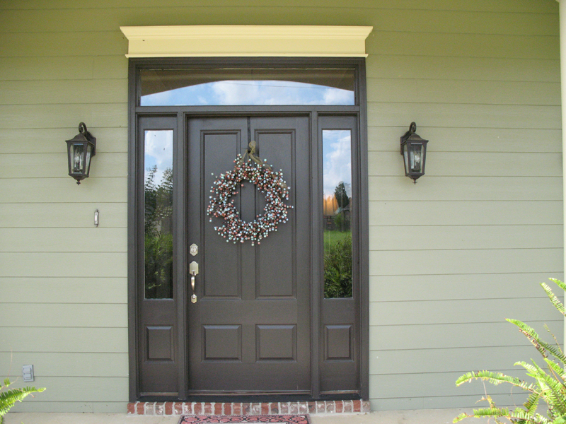 Country House Plan Door Detail Photo 077D-0097