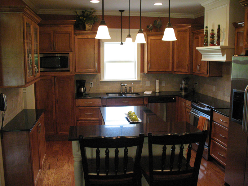 Traditional House Plan Kitchen Photo 02 077D-0097