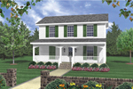 Delightful Two-Story Home Plan