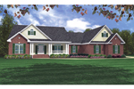 Traditional Home Outfitted With Country Curb Appeal
