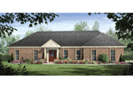 Brick Ranch Traditional With Simplistic Design And Style