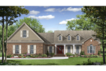 Picture Perfect Country Home With Trio Of Dormers