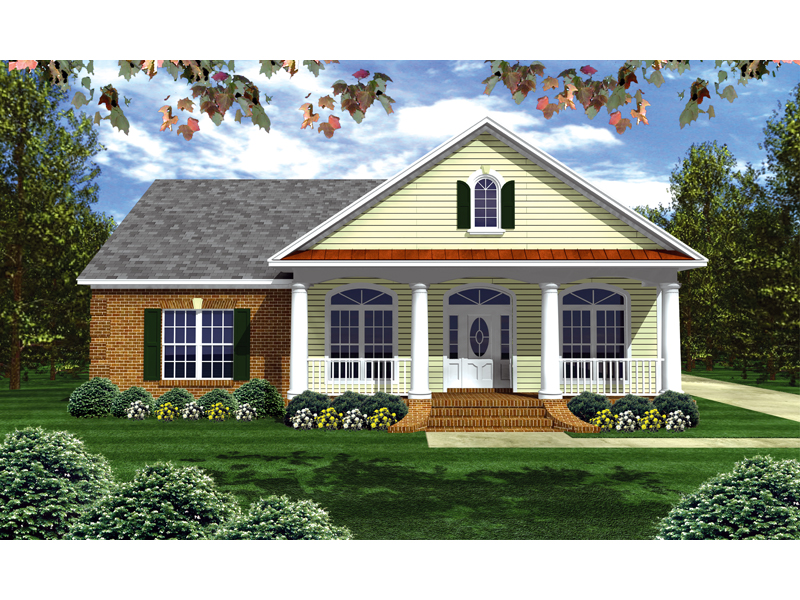 Brick Ranch Has Inviting Country Feel With Curb Appeal