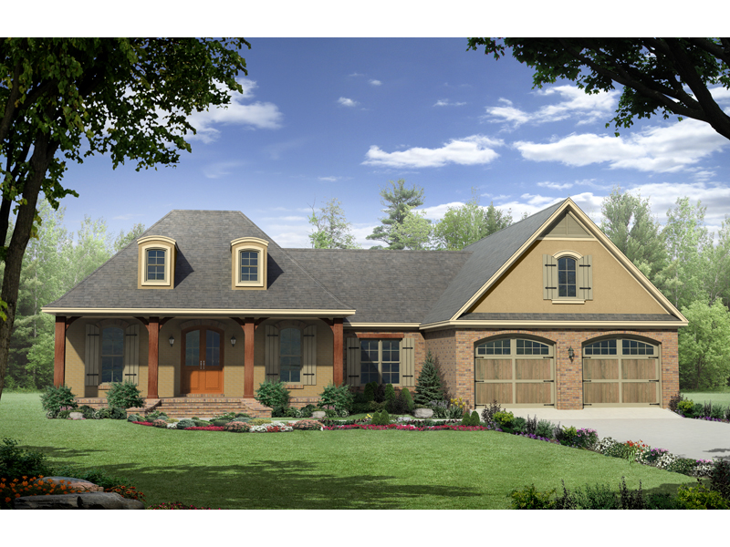 Knollshire Acadian Home Plan 077d 0135 House Plans And More