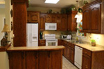 Ranch House Plan Kitchen Photo 01 - 077D-0138 | House Plans and More