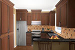 Ranch House Plan Kitchen Photo 03 - 077D-0138 | House Plans and More