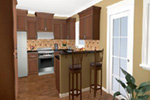 Ranch House Plan Kitchen Photo 04 - 077D-0138 | House Plans and More