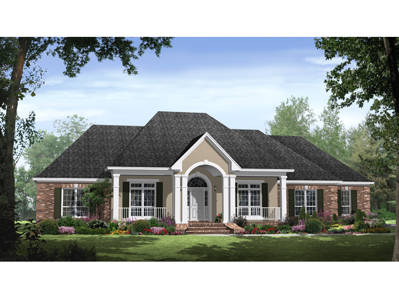 Autumn Heights Ranch Home Plan 077d 0145 House Plans And