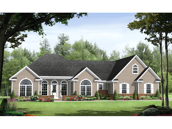 Barbados ranch home plan 077d 0149 house plans and more